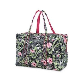 Buckhead Betties Extra Large Quilted Duffle-Buckhead Betties, duffle, bag, embroidered
