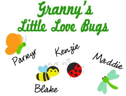 Granny's Love Bugs-Grandma, bugs, shirt, Granny