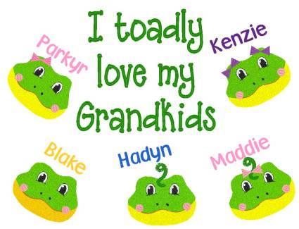 Grandma Toadly Sweatshirt-Grandparent, shirt, Grandkids