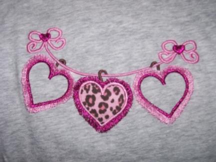 Hanging Hearts-hearts, shirt