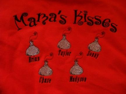 Mama's Kisses-