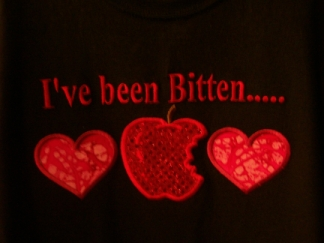 I've Been Bitten-close up-Twilight, shirt