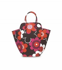 Buckhead Betties EVA Hamper Tote--Bloomalicious-Buckhead Betties,tote,hamper,flower,embroidered,Bloomalicious