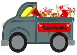 Tailgate Truck-tailgate, shirt, football, sports