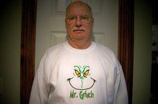 Mr. Grinch-Grinch, Christmas, sweatshirt