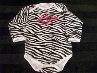 Wild Child Onesie-onesie, wild,zebra
