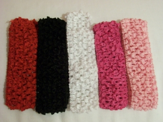 Crochet Headbands-Headband, hair, crochet
