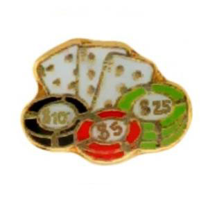 Casino Chips Charm-Forever in My Heart, locket, charm