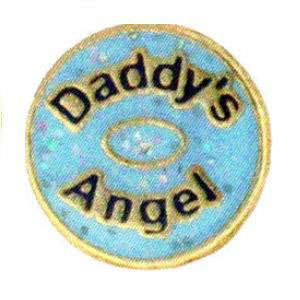Daddy's Angel Charm-Forever in My Heart, jewelry, charm