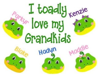 Grandma Toadly Sweatshirt-Grandparent, shirt, Grandkids