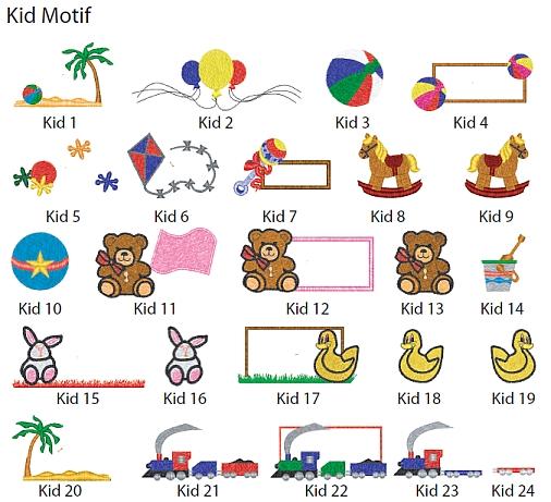 Kid Motif--Add ons-