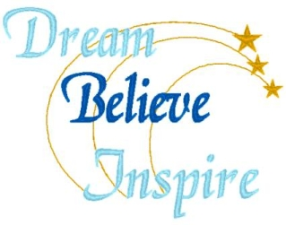 Dream, Believe, Inspire Pillowcase-pillowcase, pillow case, dream