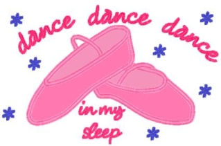 Dance in my sleep Pillowcase-Pillowcase, pillow case, ballerina, dance