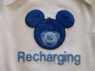 Recharging-close up view-