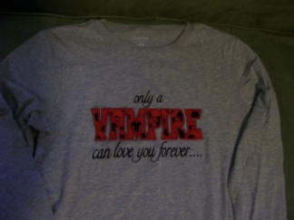 Vampire Shirt-Twilight, vampire, shirt
