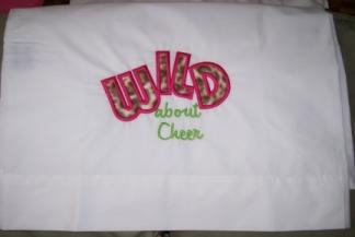 Wild About Cheer-pillowcase, cheer, wild
